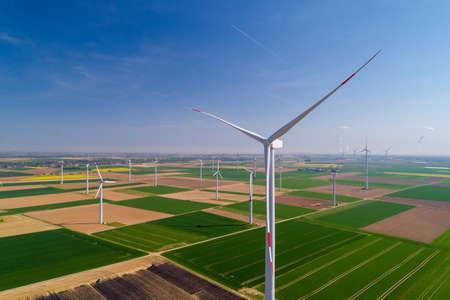 Renewable Energy Future Stock Photo