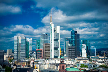 Frankfurt am Main, Germany 免版税图像