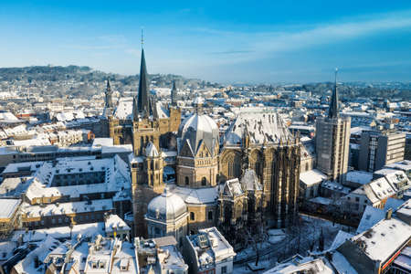 Aachen during Winter Standard-Bild