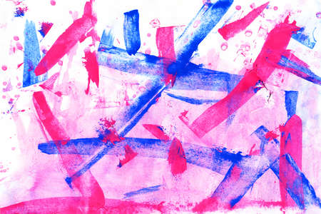 tempera: Abstract background hand made. Acrylic. Stock Photo