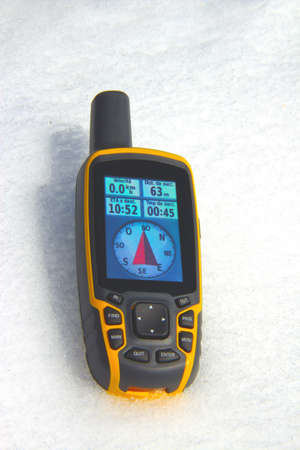receiver: GPS Receiver on the snow