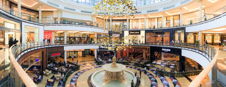 November 2, 2016 - Dubai UAE: The Mall of Emirates is the largest shopping mall in the world. The Dubai Mall is within an enormous affair in the center of the city of Dubai