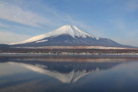 unesco: mountain of Fuji Stock Photo