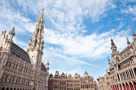 belgium: Grand Place in Brussels Belgium