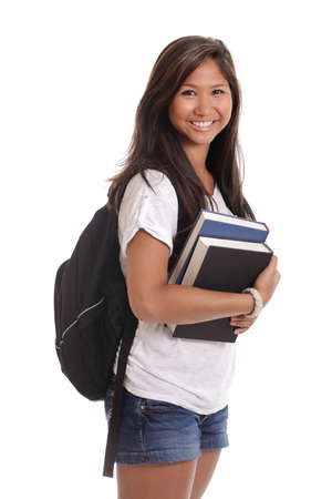 Asian college student Stock Photo - 12646868