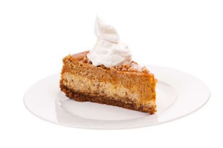 Pumpkin cheesecake photo