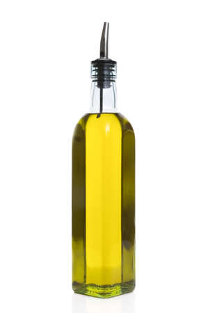cooking oil: Olive oil bottle