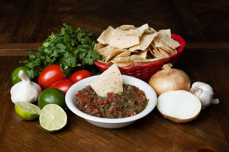 Chips and salsa photo
