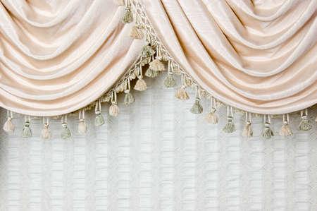 curtain design: Curtain swag