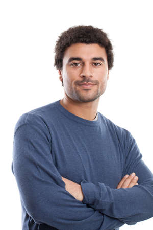 Handsome Middle Eastern man