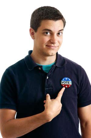 voter: Teen voter