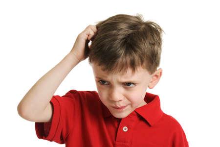 confus: Enfant Confused