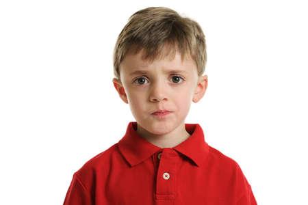 Preoccupato boy Archivio Fotografico - 13260681