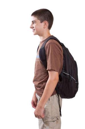 Preteen student profile view