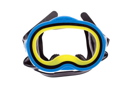 sporting goods: Diving mask isolated on a white background