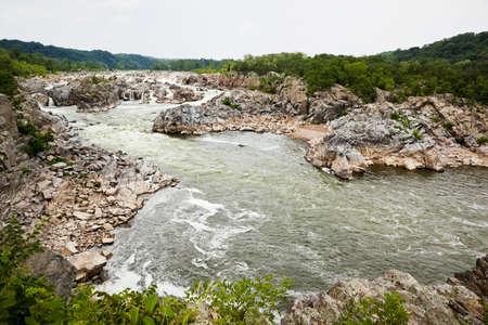 virginia: Great Falls Virginia waterfalls and river