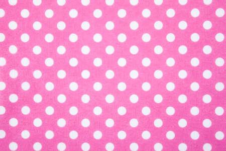 Pink felt polka dot background Stok Fotoğraf