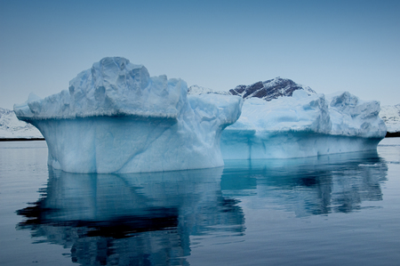 Iceberg outside the town Sisimiut