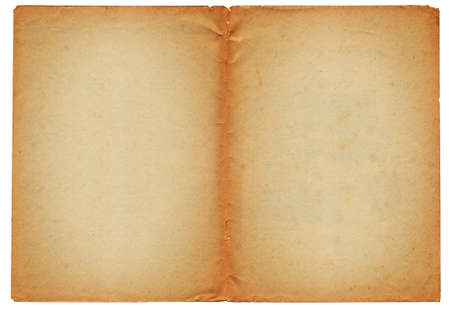 Two blank ancient pages background