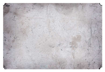 Aluminium scratched grunge metal plate industrial abstract background