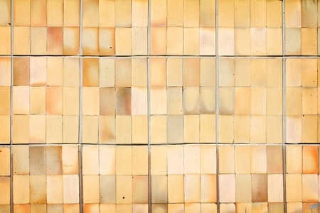 Vintage decorative ceramic tile wall background photo