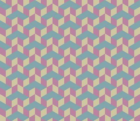 3d Cube Vector Seamless Pattern Background