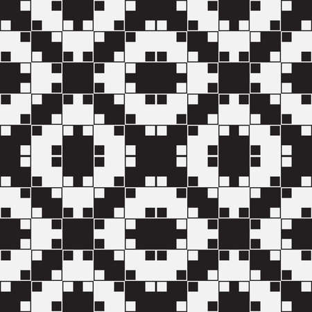 Black and White Optical Illusion Vector