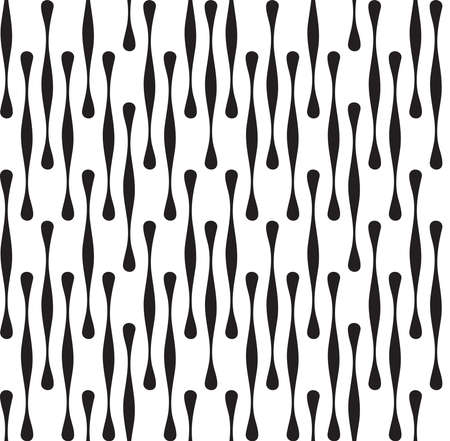 Black and White Abstract Geometric  Vettoriali