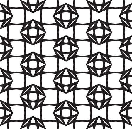 diamonds on black: Diamonds, Black and White Abstract Geometric  Illustration