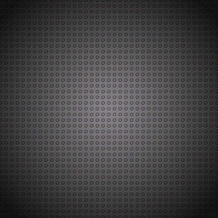 Circle Ring Cell Metal Background, Vector Illustration. Illustration