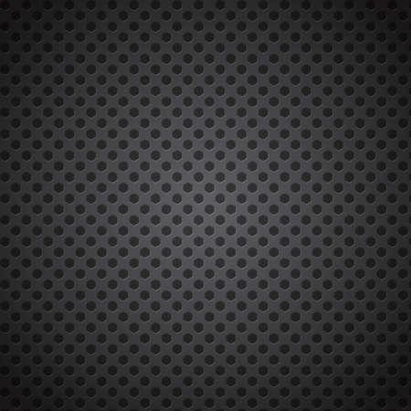 Pentagon Cell Metal Background, Vector Illustration.