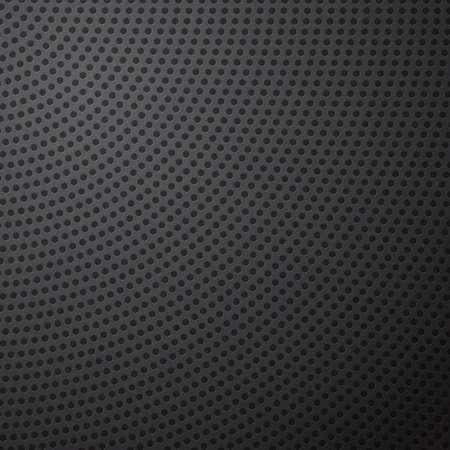 Radial Pentagon Cell Metal Background, Vector Illustration.