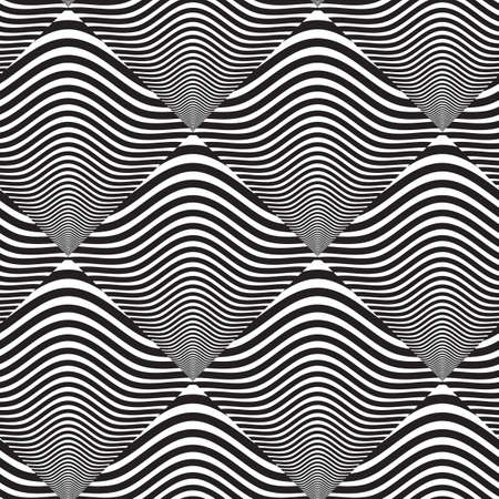 Black And White Design Background Black And White op Art Design