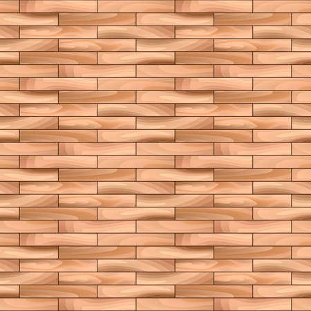 hardwood flooring: Дубовый паркет Деревянная Вектор бесшовные узор фона.
