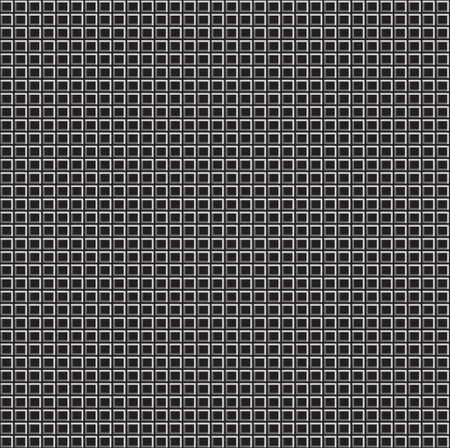 Pixel Grid Texture over Black Background. Vector Illustration Web Seamless Pattern. Vector