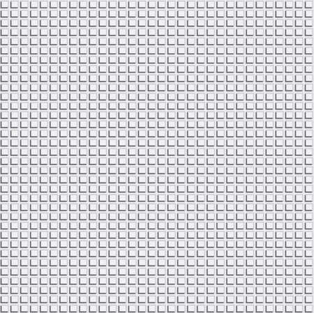 Pixel Grid Texture over Light Grey Background. Vector Illustration Web Seamless Pattern. Vector