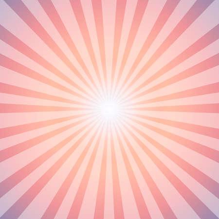 Sunrise Sun Sunburst Pattern, Vector illustration