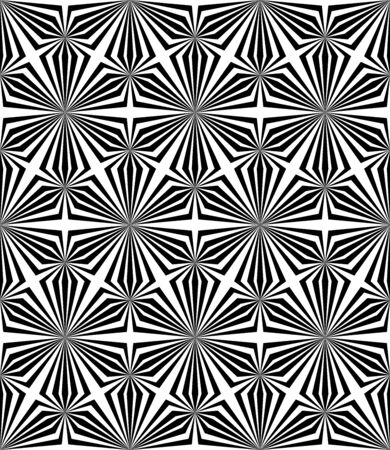 bases: Abstract Triangle Bases Black and White Seamless Pattern, Vector Illustration.
