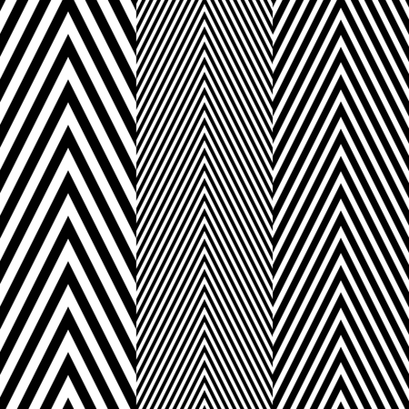 blanket fish: Abstract Black and White Herringbone Fabric Style Vector Seamless Pattern