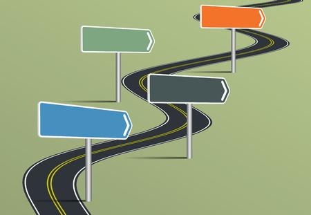 Timeline Infographic Template Vector Illustration