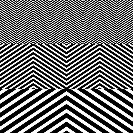 Abstract Black and White Herringbone Fabric Style Vector Seamless Pattern Vector
