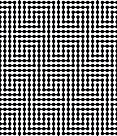 appear: Abstract Metaball Based Vector Seamless Pattern. Some Motion Illusion Effect May Appear.