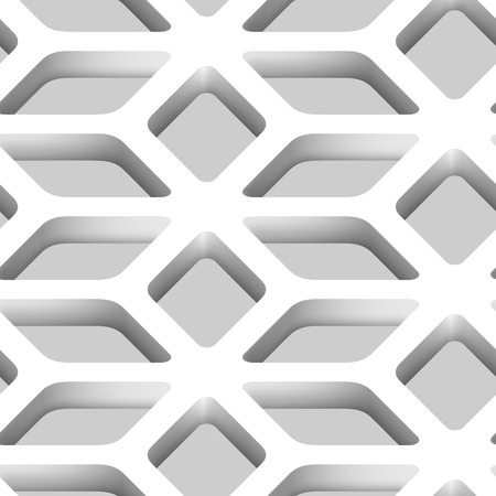 lattice: 3D Lattice Vector Seamless Pattern Background Illustration