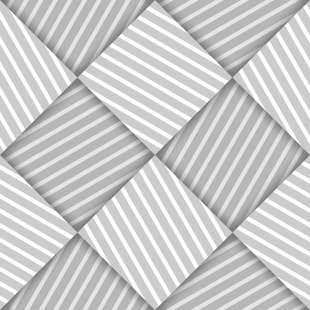 latticed: Abstract Striped Squares Geometric Vector Seamless Pattern Background