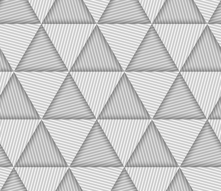 latticed: Abstract Striped Triangles Geometric Vector Seamless Pattern Background Illustration