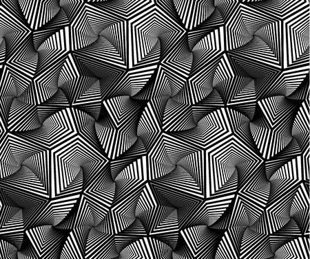Résumé géométrique triangulaire vectorielle Seamless motif de fond