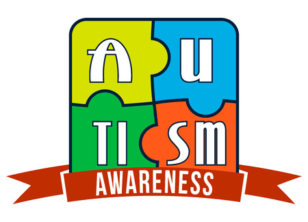 asperger: Autism Awareness T-shirt Typography Graphics, Vector Illustration