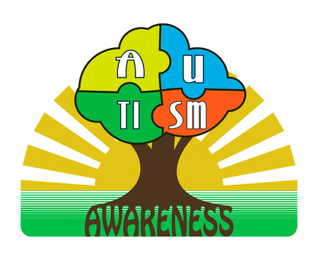 Autism Awareness T-shirt Typography Graphics, Vector Illustration