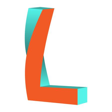 不可能の文字 K ロゴ アイコン デザイン テンプレート Tlement、ベクトル図をツイスト