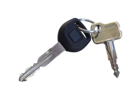 Odd Key Set: Microchiped Car Key coupled with regular Mechanical Security Lock Key